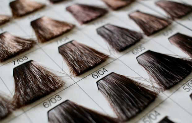 髪色のトーン表